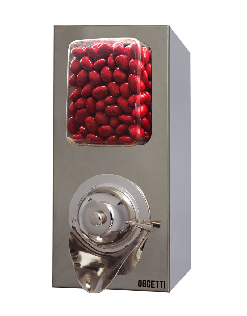 Stainless Coffee Dragee Nuts Dispensers without Shovel 1