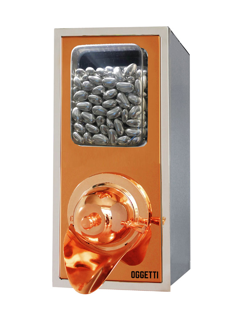 Framed Shovelless Stainless Coffee Dragee Nuts Dispensers 3