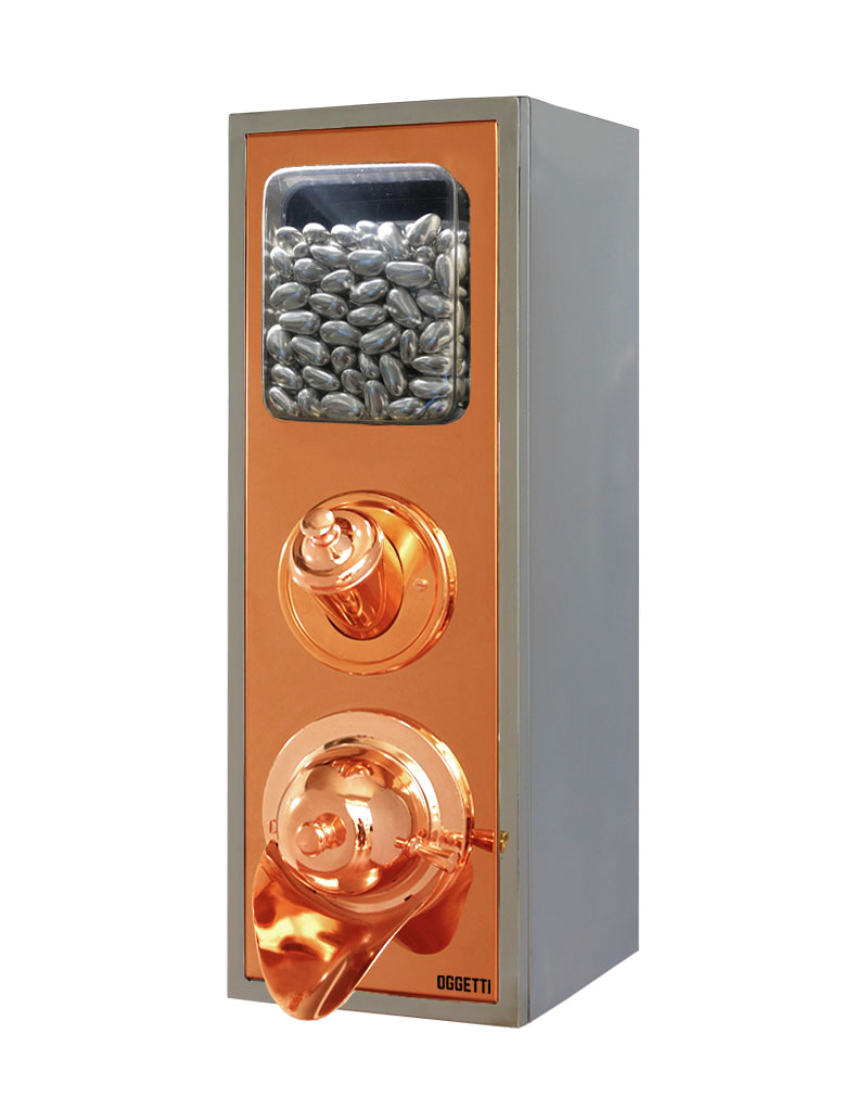 Framed Shoveled Stainless Coffee Dragee Nuts Dispensers 3
