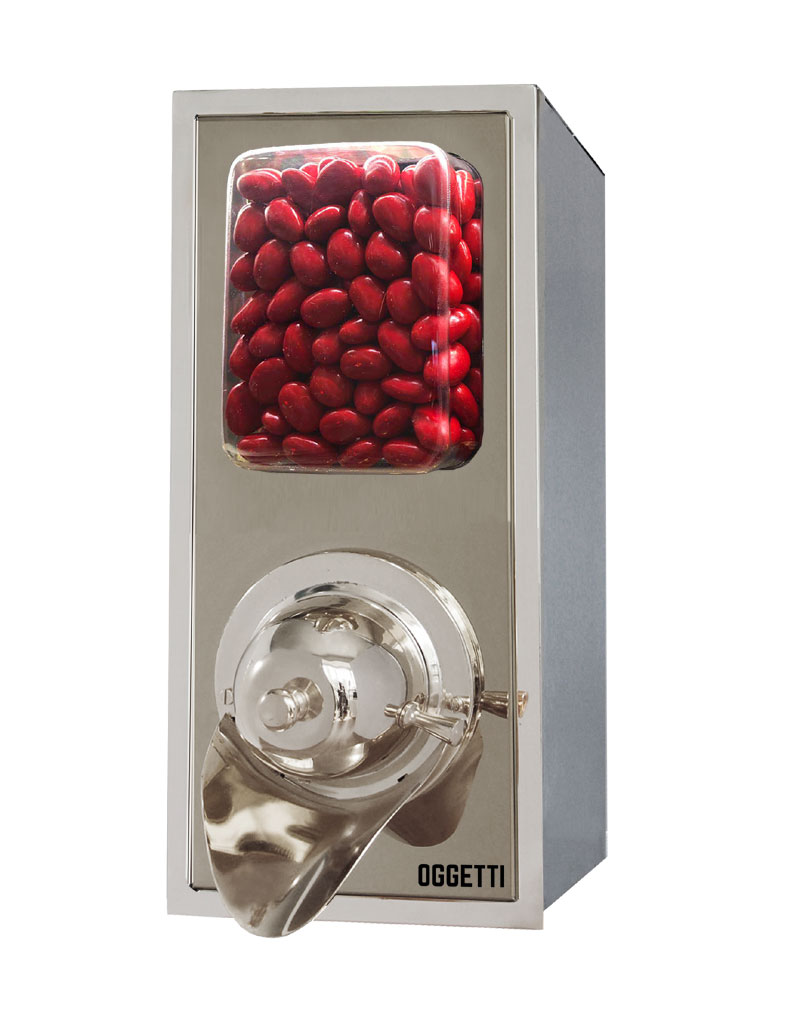 Framed Shovelless Stainless Coffee Dragee Nuts Dispensers 1