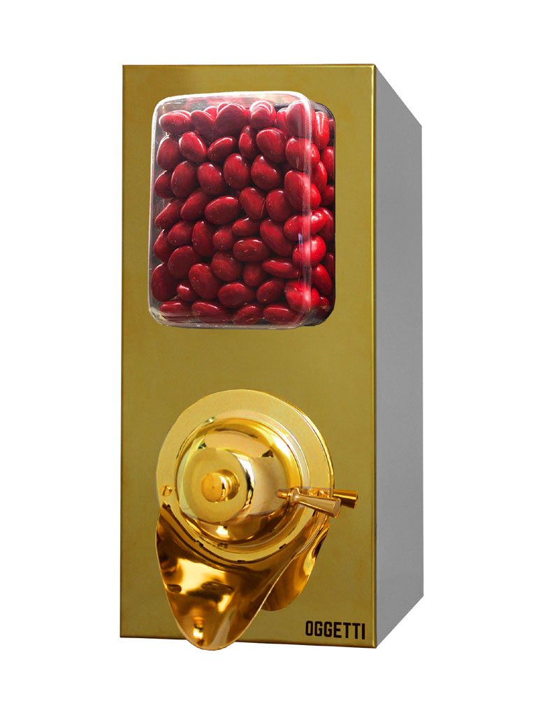 Stainless Coffee Dragee Nuts Dispensers without Shovel 2