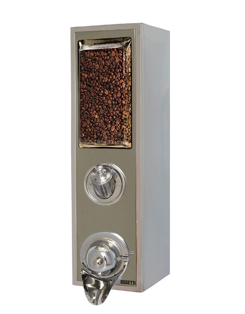 Framed Shoveled Stainless Coffee Dragee Nuts Dispensers 4