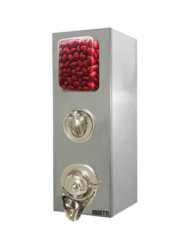 Shoveled Stainless Coffee Dragee Nuts Dispensers 1